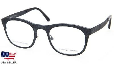 NEW PRODESIGN DENMARK 4384 c.6121 BLACK EYEGLASSES GLASSES 48-22-140 B40mm Japan