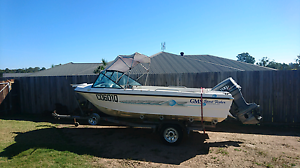 Gms sportfisher 4.5m 115hp Yamaha Gympie Gympie Area Preview