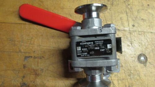 Flowserve Triclover Ball Valve- Stainless KO6, Used