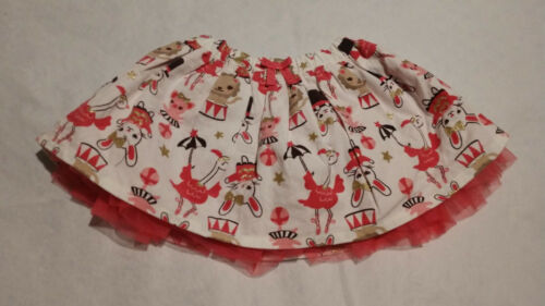 NWT Gymboree Star of the Show Circus Animal Corduroy Tulle Skirt 2T Toddler Girl