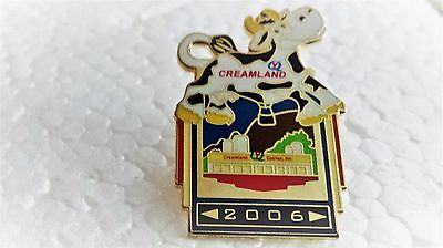 CREAMLAND COW 2006 BALLOON PIN