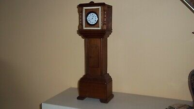 Pocket Watch Stand Grandfather Clock With Musical Movement Reuge H L Whittaker