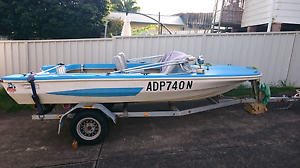 14.6 foot fibreglass runabout. Pride Caribbean Cardiff Lake Macquarie Area Preview