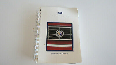 1991 Cadillac Allante Owners Manual Book Guide Used OEM