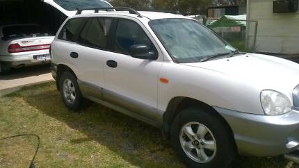 2004 Hyundai Santa Fe Wagon $6,200 12MTHS REG AND RWC Berriwillock Buloke Area Preview