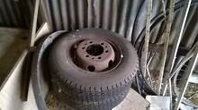 3 TYRES AND RIMS (FOR TRUCK??) FOR SALE Kadina Copper Coast Preview