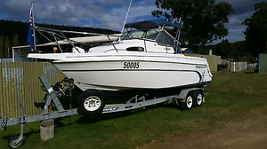 Haines Hunter 680 Patriot Goodwood Glenorchy Area Preview