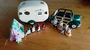 Sylvanian Families Caravan and Family Car with 2x Families plus Colac Colac-Otway Area Preview