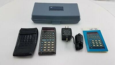 Hewlett-Packard HP-35 Calculator with Case