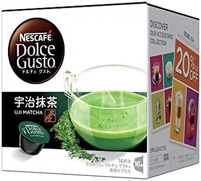 Nestle Coffee Capsules Nescafe Dolce Gusto Uji Matcha Green Tea
