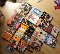 Vintage hockey book collection