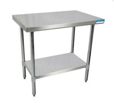 Bk Resources Svt-6024 All Stainless Work Table 60w X 24d 18430 Stainless Top