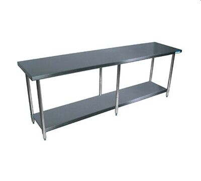 Bk Resources Svt-9624 All Stainless Work Table 96w X 24d 18430 Stainless Top