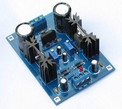Acdc 12v 24v Lm317 Lm337 Linear Voltage Regulator Adjustable Power Supply Kits