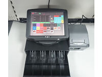 Complete Epos System 12 inch Touchscreen with Cashdrawer, Printer, Epos Software, Cash Till