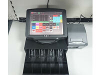 "Complete Epos System 12"" Touchscreen with Cashdrawer, Printer, Epos Software"