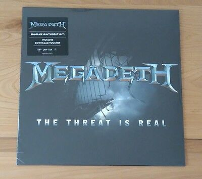 Megadeth The Threat Is Real 2015 Euro 12