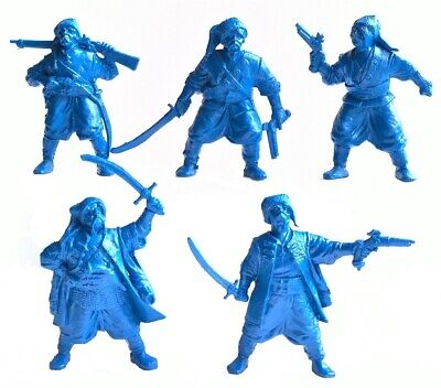 Tehnolog Zaporozhye Cossacks 54mm Toy collection soldiers 5pcs
