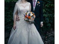 Justin Alexander Wedding Dress, Size 8/10 - Just reduced!
