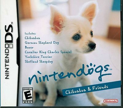 Nintendogs Chihuahua & Friends DS! NDS, DSI, LITE, XL, 3DS! DOGS, PETS, PUPPY (Dog Simul)