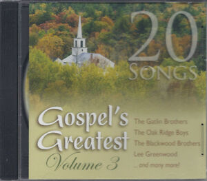 VARIOUS-ARTISTS-Gospels-Greatest-Volume-3-20-Songs-New-Sealed-Southern-CD