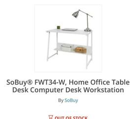 Sobuy desk