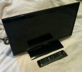 HDTV 20 Inch digital freeview television with HDMI, SCART and PC inputs. TV as new.
