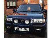 Vauxhall Frontera 5 door SUV 4x4 Petrol