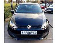 VOLKSWAGEN POLO 1.2 S 5d 60 BHP Apply for finance Online today! (black) 2013
