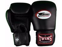 Twins Leather Boxing Gloves 14oz