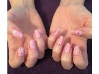 Shellac , Gelish, eyelash extensions, waxing, tinting, defined brows