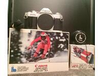 CANON AV-1 35mm Film SLR with FD 50mm Lens PLUS