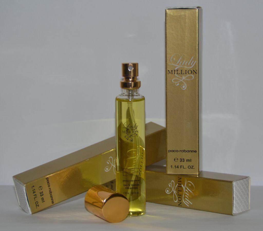 paco rabanne lady million 33 ml tester eau de parfum. Black Bedroom Furniture Sets. Home Design Ideas