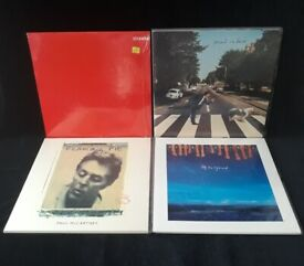 Paul McCartney 8 Rare 1990s Vinyl LPs albums, including The Fireman: Sealed/Mint/Near Mint!! Beatles