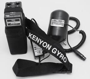 Gyro stabilizer for cameras
