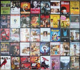 99 DVD COLLECTION JOB LOT UK REGION 2 MOVIES FILMS BOX SET GODFATHER ALMODOVAR