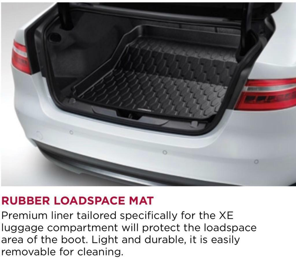 JAGUAR XE BOOT LOAD SPACE RUBBER MAT LUGGAGE BOOT NEW GENUINE T4N7497