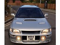 *** SUBARU IMPREZA WRX TURBO JAPANESE IMPORT (SPARES OR REPAIRS) *** STI UK PROJECT JDM GC8 GF8