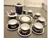 Weimar Kobalt Porcelain Set