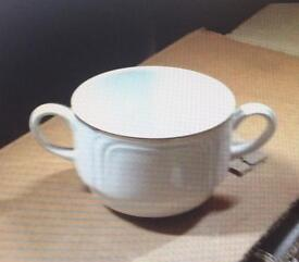 48 pieces CATERING SOUP DISHES DUDSON FINE CHINA NEW never out of box