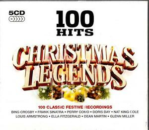 100 HITS-THE BEST OF CHRISTMAS LEGENDS (NEW 5-CD) Peggy Lee/Eddie Fisher 50s 60s