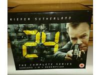 24 - complete box set (series 1-8 + redemption)