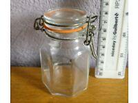 Small Kilner-style Clip Top Jars x 20