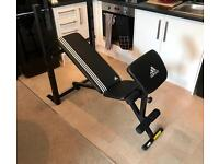 Workout Bench with Armcurl attachment