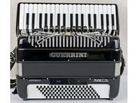 Guerrini Oxford IV Musette - 37 keys / 96 Bass - 4 Voice Accordion with Mag MIDI - Demo Available