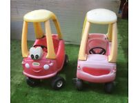 Little Tikes cosy coupe cars