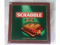 Scrabble Deluxe Wooden Rotating Game - Brand NEW
