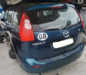 Breaking Door Seal 2006 Mazda 5 TS2 1.8 Blue MPV l8 wing window glass front rear offside nearside