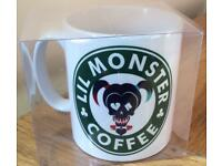 Daddy's Lil Monster......Harlequin Coffee Mug