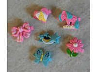 Vintage My Little Pony G1 Hair Clips